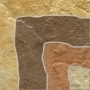 Gres Fossile Slate multi naroznik